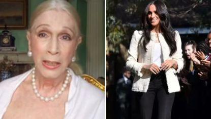 """Lady Colin Campbell haalt uit naar Meghan Markle: """"Ze wilde groter worden dan Diana, en Harry werd het slachtoffer"""""""