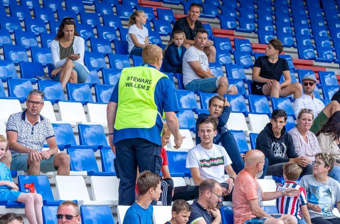 Duizend fans hebben zich aangemeld voor de eerste oefenwedstrijd van Willem II.