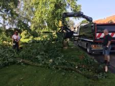 Noodweer zorgde vooral voor veel overlast in Hedel, Oss en Rijen