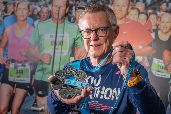 Peter Jansen rekent erop dat hij in 2020 in New York zijn twintigste marathon kan lopen.