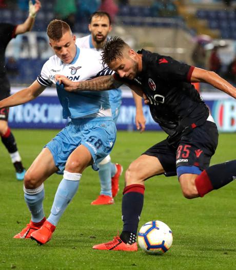 Dijks pakt punt met Bologna bij Lazio in spektakelstuk