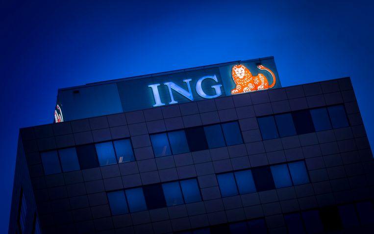 ING heeft een fikse tik op de neus gehad van politiek en publieke opinie. Beeld ANP XTRA