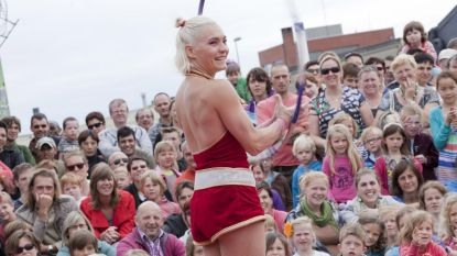 Circusartiesten brengen topentertainment in Grootseminarie