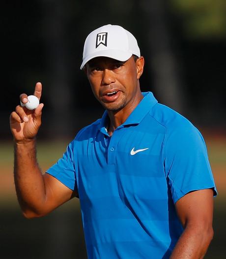 Woods is eindelijk terug: 'Moeite om niet te huilen'