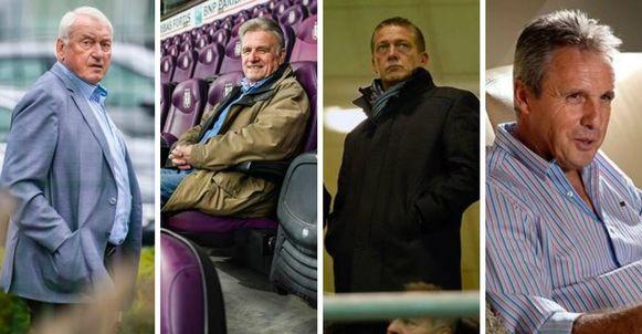 Van Himst, Heylens, Czerniatynski en Vandenbergh.