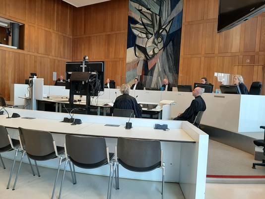 In het Paleis van Justitie in Arnhem zijn tien zittingszalen coronaproof gemaakt. Archieffoto. © Rechtbank Arnhem