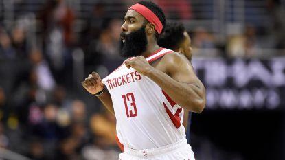 Topscore James Harden volstaat niet voor zege Houston Rockets