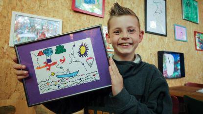 Kinderen met autisme stellen hun pareltjes tentoon