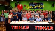 Tafeltennisclub gaat van start met nieuwe sponsor en zaal krijgt likje verf
