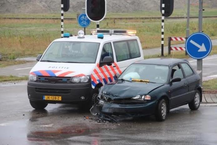 Ongeluk in Vlissingen-Oost.