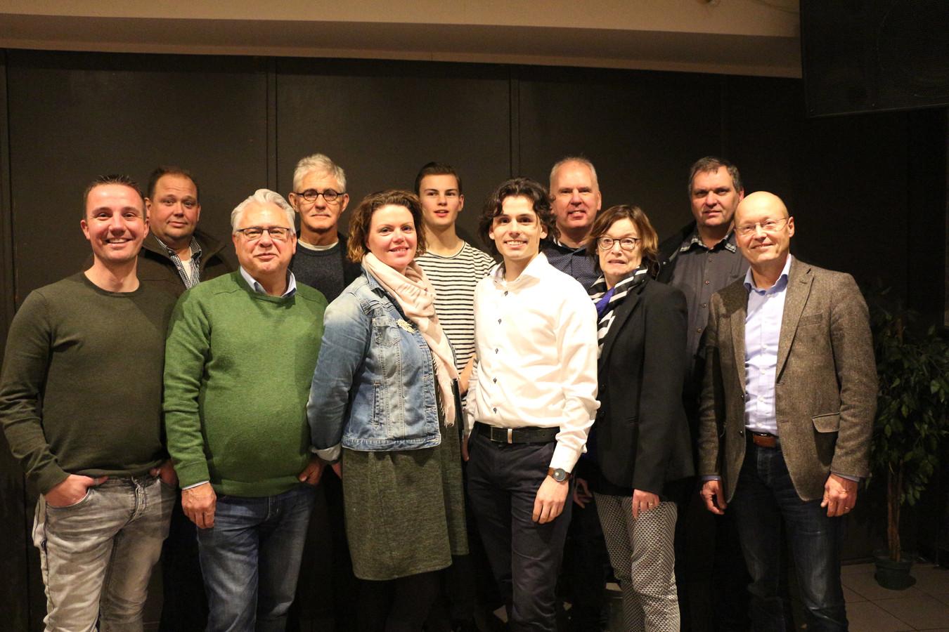 Kandidaten PNL: Arian de Groot, Ton van de Wijdeven, Jan Hendriks, Toon Brouwers, Harriëtte van Delden, Ron van den Berkmortel, Bowen Straatman,  Ronnie Tijssen, Ria van der Zanden, Wim van Dijk en Hans Vereijken.