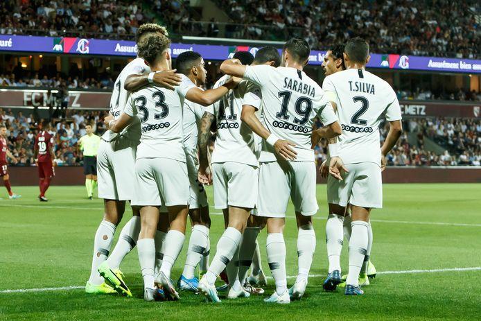 Paris Saint-Germain won vorig seizoen met 0-2 in Metz, de ontmoeting in Parijs werd nooit gespeeld omdat de competitie niet werd afgerond.