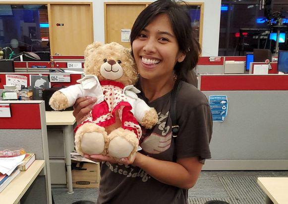 Mara Soriano heeft haar geliefde 'Mama Bear' teruggekregen na een oproep op Twitter.