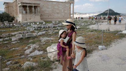 39 graden in de schaduw: Acropolis gesloten door hittegolf in Griekenland