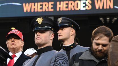 """Weerstand tegen toespraak Trump op militaire academie West Point: """"Ze hebben u niet gevraagd te komen"""""""