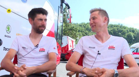 Thomas De Gendt en Tim Wellens.