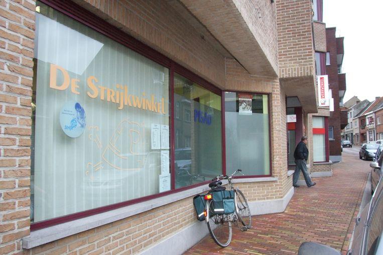 De Kringloopwinkel komt in het pand van de vroeger strijk- en werkwinkel aan de Wielendaalstraat.
