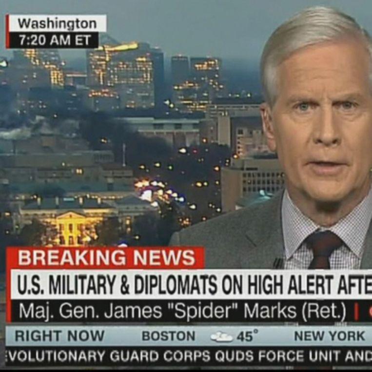 Gevaarlijke nieuwszender CNN.  Beeld