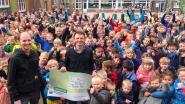 VBS De Rank verzamelt 4.020 euro voor 'Levensloop Team Pieter'