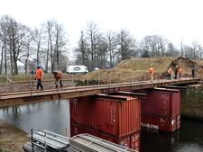 Ravelijn in Bergen op Zoom  omgetoverd tot enorme bouwput