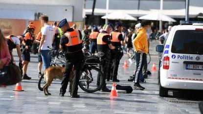 Politie houdt grote controle aan station