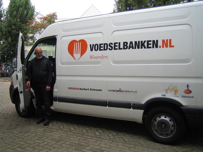 De voedselbank in Woerden heeft al een soortgelijke koelwagen.