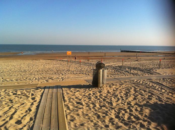 Strand Domburg, 08.05 uur.