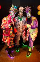 De broers Patrick, Ronald en Frank Kuipers bij bij Drie Uurkes Vurraf
