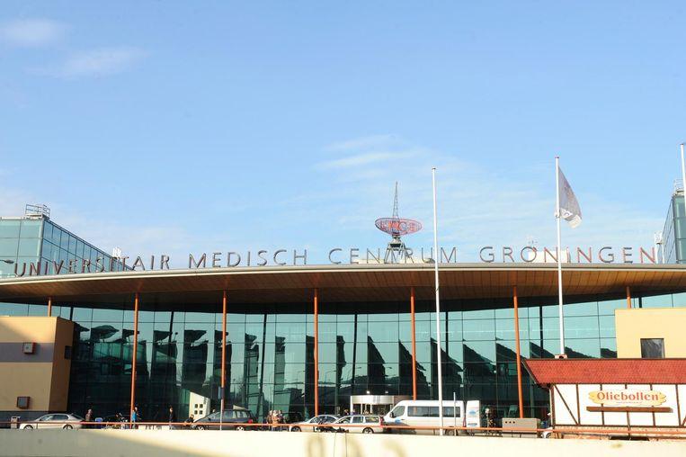 Het ziekenhuis in Groningen waar Amir in is opgenomen Beeld Fotopersburo Dijkstra