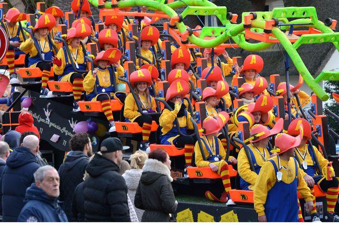 Carnaval in Odijk.