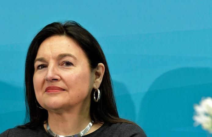 Marie-Christine Marghem, ministre fédérale de l'Énergie, de l'Environnement et du Développement durable (MR).