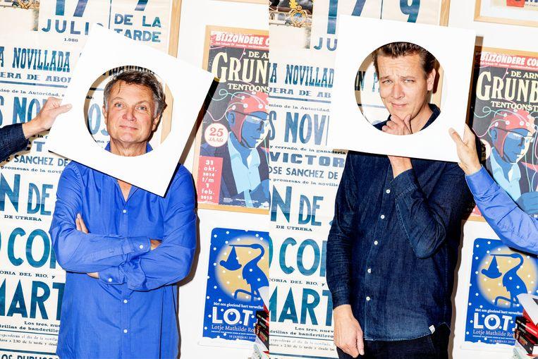 Ron van Roon (L) en Bart Rouwhorst (R) van Rouwhorst + Van Roon zijn de Profieldetectives. Beeld Marie Wanders