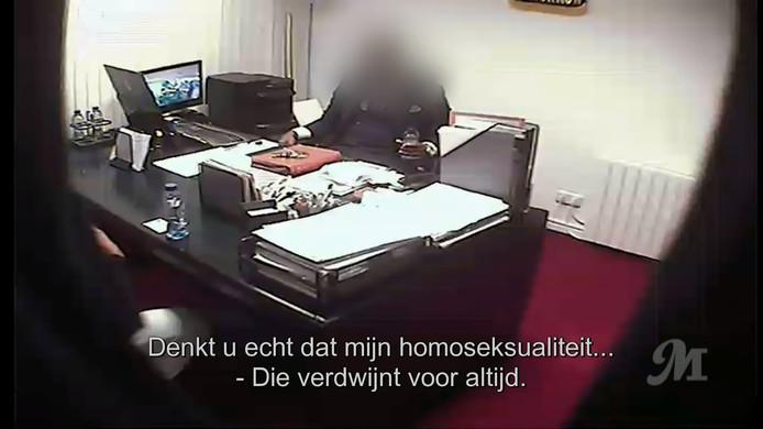 Een man in de uitzending van 'Ewout &' beweert homoseksualiteit te kunnen genezen