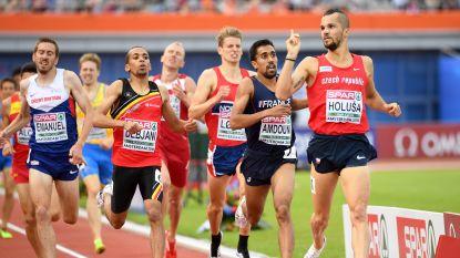 Ismael Debjani verbetert Belgisch record op 1.500 meter
