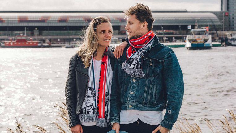 Eva Brouwer en Marijn Arbouw Beeld Janneke Nooij