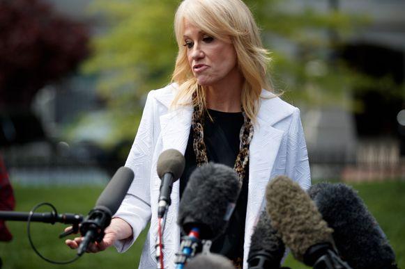 """Kellyanne Conway: """"De beste dag sinds de verkiezingen."""""""