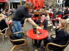 Terrassen dit weekend uur langer open in Amersfoort