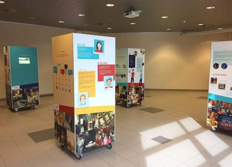 De tentoonstelling is te bezichtigen in de expozaal van CC Het Bolwerk.