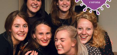Zo beleven deze Twentse vriendinnen de coronacrisis: 'Zeven is te groot om samen iets te doen'