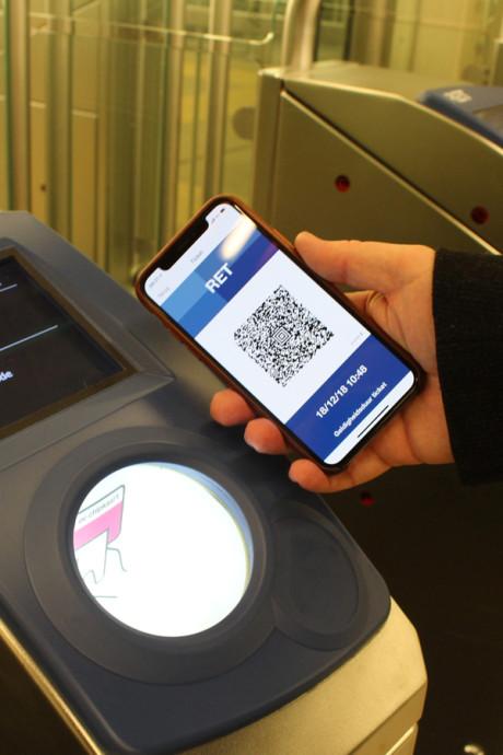 Barcodeticket nu ook voor metroritjes