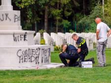 Buurt over bekladder oorlogsgraven in Mierlo: 'Alle muren in de woonkamer waren ondergespoten'