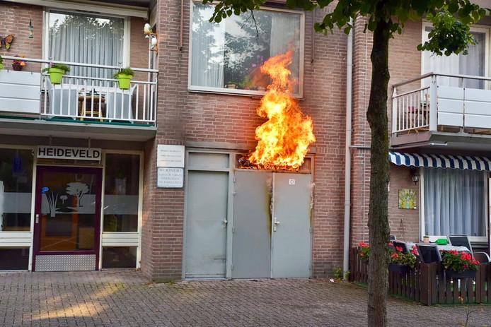 Brand appartementen Tilburg