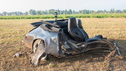 Twee doden na crash met Porsche van 28 jaar