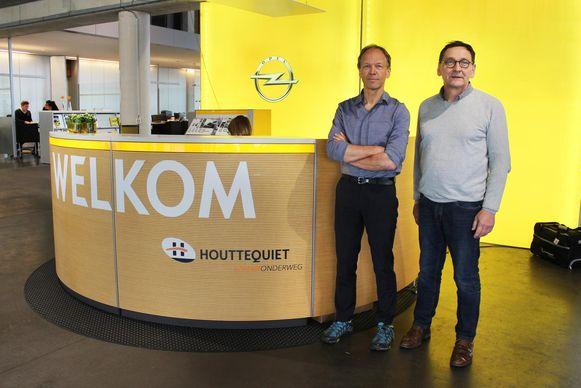 Dirk en Geert Houttequiet.