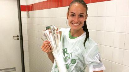 Tessa Wullaert pakt met Wolfsburg DFB-Pokal