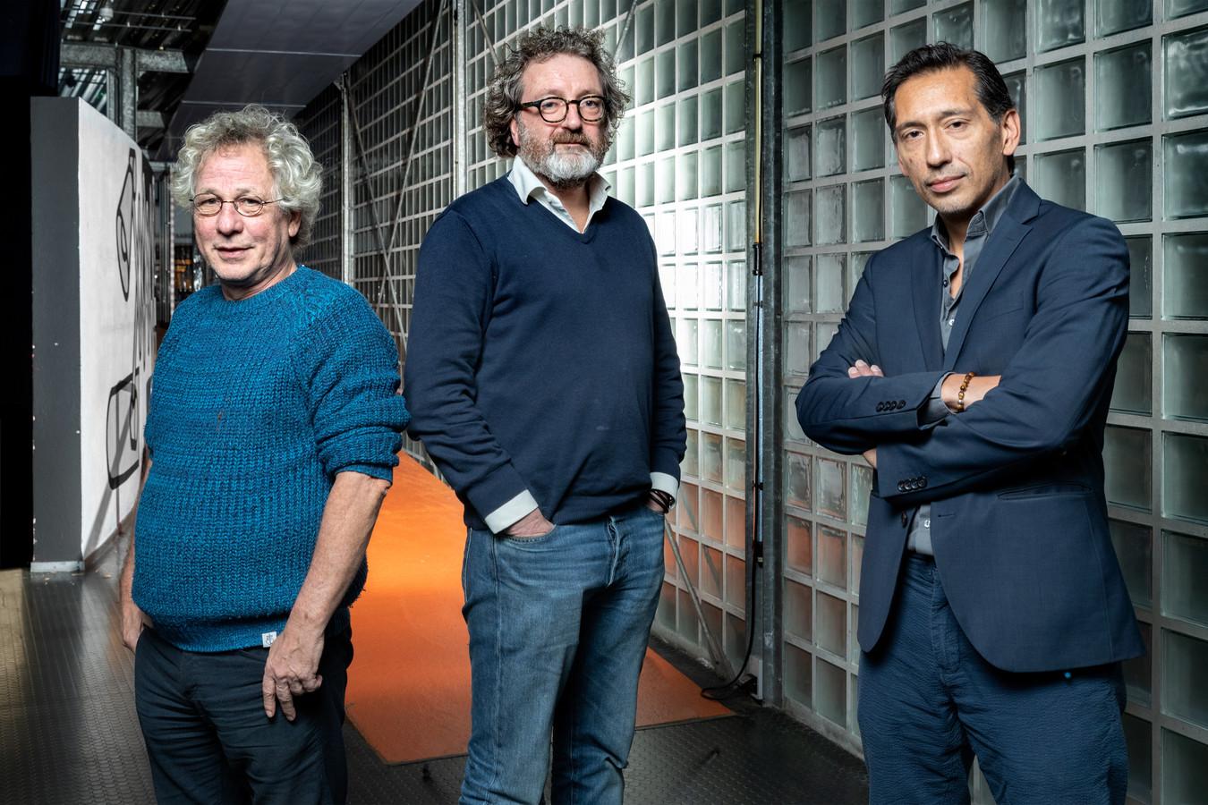 De advocaten Bert de Rooij (links), Erik Thomas (midden) en Geoffrey Woodrow.