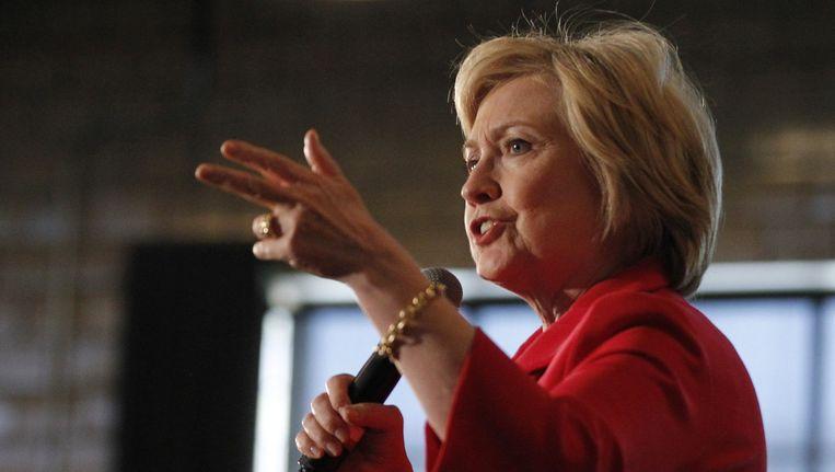 Hillary Clinton Beeld afp