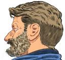 Klusjesman Josef B. - hier tijdens een eerdere rechtszitting -  kondigde aan in hongerstaking te gaan toen hij hoorde dat hij nog langer vast moet blijven zitten.