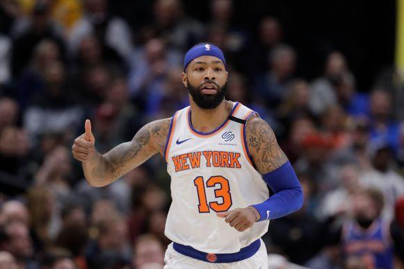 Marcus Morris ruilde de NY Knicks in voor de LA Clippers