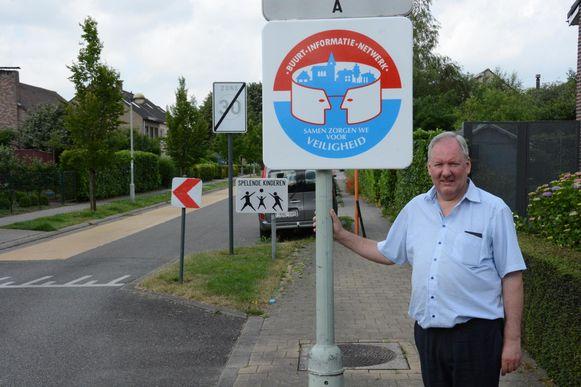 Marc Van de Vijver, voorzitter van de politieraad, is blij met de resultaten van de buurtinformatienetwerken.